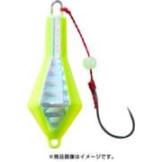 穴釣り専科 ジカブラSS 3号 イエローチャートホロ