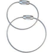 ワイヤーキーリングS (2個) MM-TYKC15S [登攀用具 小物]