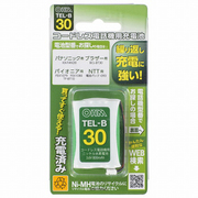 TEL-B30 [コードレス電話機用充電池 長持ちタイプ]