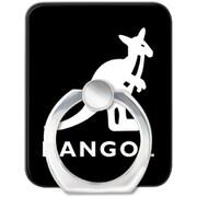 AJ-0353-RING-BLAK [スマートフォンリング KANGOL LOGO BLK]