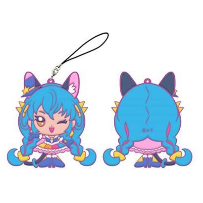 STP-553712 スター☆トゥインクルプリキュア 厚盛りラバーチャーム キュアコスモ [キャラクターグッズ]