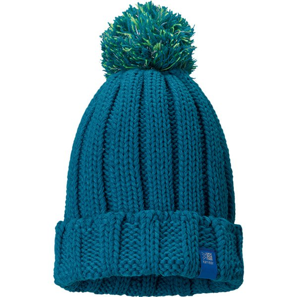 folded beanie kids +d 210647 Turquoise [アウトドア 帽子 キッズ]