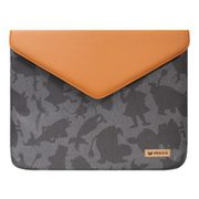 "MZESM11GB [MOOMIN Envelope Laptop Pouch 11"" Brown and Gray Surface用ケース]"