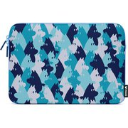 "MZNPMC13 [MOOMIN Camo Laptop Pouch 13"" Blue Surface用ケース]"