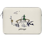"MZNPOR215 [MOOMIN Values Laptop Pouch 15"" Friendship Surface用ケース]"