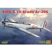 92233 SIPA S.10 / アラド Ar396 [1/72スケール プラモデル]