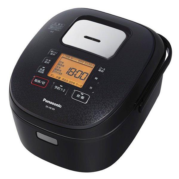 SR-HB109-K [IH炊飯器 ダイヤモンド銅釜 5.5合炊き ブラック]