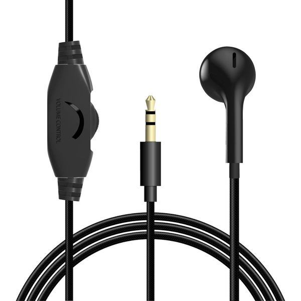 EHP-TV10IM3BK [テレビ用モノラルヘッドホン/セミオープン型/φ14.2mmドライバー/Affinity sound/高耐久ケーブル/3.0m/ブラック]