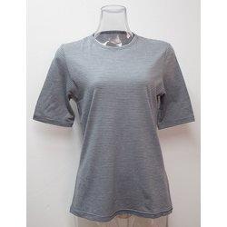 WsボーダーショートTシャツ H-132 LGY×H.GRY L.グレー Sサイズ [アウトドア カットソー レディース]