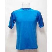 MsラインショートTシャツ H-522 BLU×DOC ブルー LLサイズ [アウトドア カットソー メンズ]