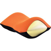 旅行用疲労軽減枕 ネックラック(トラベル)オレンジ×ネイビー