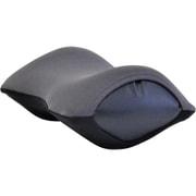 旅行用疲労軽減枕 ネックラック(トラベル)ダークグレー×ブラック