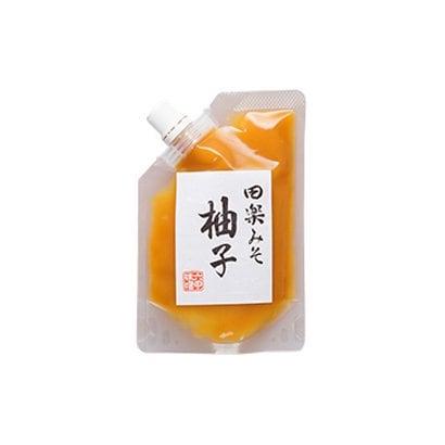 田楽みそ「柚子」 120g スパウト袋詰め [味噌]