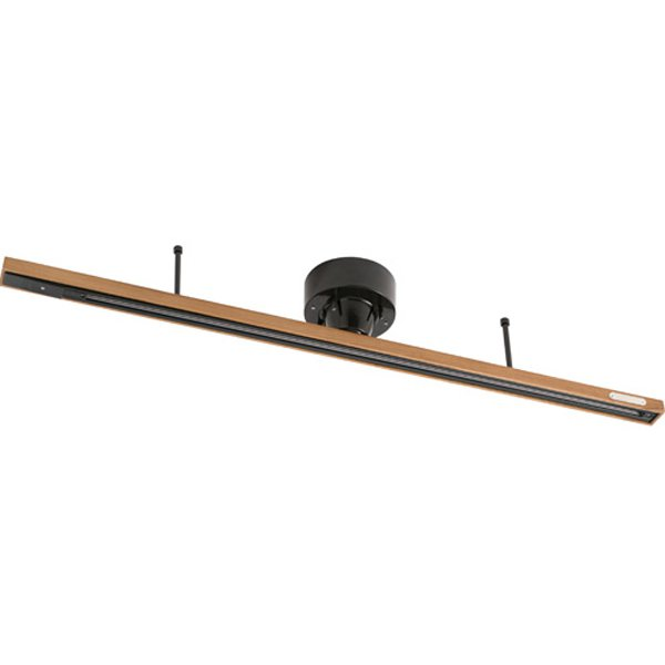 003029WOOD/BK [GENERAL_WOOD/STEEL DUCT RAIL[with REMOCON]]