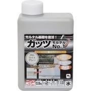 HYR001-0.5 [ニッペ ガッツ モルタルNO.1 0.5kg ライトグレー]