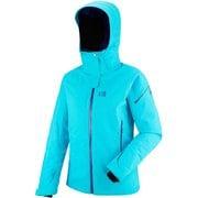 LD WHISTLER STRETCH JKT MIV6981 8313 BLUE BIRD/PURPL XSサイズ [スキーウェア ジャケット レディース]