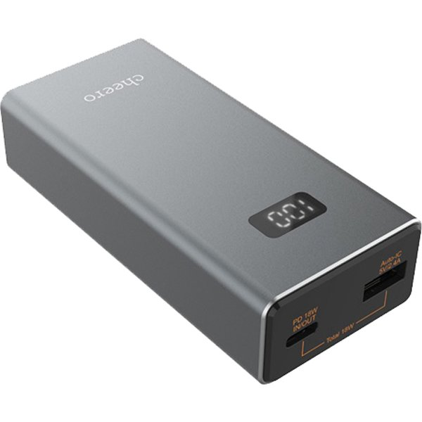 CHE-101-GM [Power Plus 5 Power Deliver対応モバイルバッテリー 10000mAh メタリックグレー]