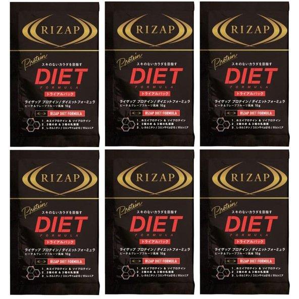 RIZAPプロテイン ダイエットフォーミュラ<ピーチ&グレープフルーツ> ボール [ダイエット食品]