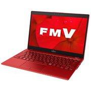 FMVU75D2R [ノートパソコン LIFEBOOK UHシリーズ/13.3型ワイド/Corei5-8265U/メモリ 8GB/SSD 256GB/ドライブレス/Windows 10 Home 64ビット/Office Home and Business 2019/ガーネットレッド]