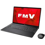 FMVN90D2B [ノートパソコン LIFEBOOK NHシリーズ/17.3型ワイド/Corei7-9750H/メモリ 8GB/SSD 256GB+HDD 1TB/Blu-rayドライブ/Windows 10 Home 64ビット/Office Home and Business 2019/ブライトブラック]