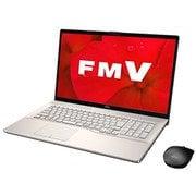 FMVN90D2G [ノートパソコン LIFEBOOK NHシリーズ/17.3型ワイド/Corei7-9750H/メモリ 8GB/SSD 256GB+HDD 1TB/Blu-rayドライブ/Windows 10 Home 64ビット/Office Home and Business 2019/シャンパンゴールド]