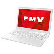 FMVA50D2WP [ノートパソコン LIFEBOOK AHシリーズ/15.6型ワイド/Corei7-7700HQ/メモリ 4GB/HDD 1TB/DVDスーパーマルチ/Windows 10 Home 64ビット/Office Home and Business 2019/プレミアムホワイト]