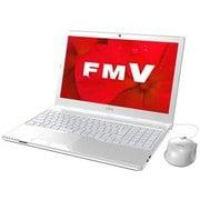 FMVA41D2W [ノートパソコン LIFEBOOK AHシリーズ/15.6型ワイド/A4-9125/メモリ 4GB/SSD 256GB/DVDスーパーマルチ/Windows 10 Home 64ビット/Office Home and Business 2019/アーバンホワイト]