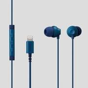EHP-LF12CMBU [ステレオヘッドホン(マイク付)/耳栓型/Lightning/10.0mmドライバ/FAST MUSIC/F12C/ブルー]