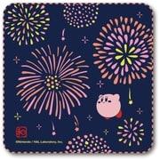 星のカービィ ふわふ和コレクション ガーゼハンカチ 2 カービィと花火 [キャラクターグッズ]