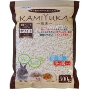クリーンモフ小動物用床材 KAMIYUKA 紙床 ホワイト [500g]