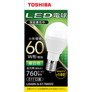 LDA6N-G-E17S60V2 [LED小型電球 E17 60W形相当 昼白色 配光角180°]