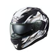 KAMUI 3 STARS [ヘルメット フラットブラックシルバー XS]