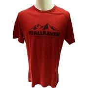 Abisko Trail T-Shirt Print 81894 335 Lava Mサイズ [アウトドア カットソー]