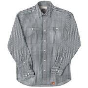 SCパナマギンガムシャツ SC Panama Gingham Shirt 5212847 (025)ブラック Mサイズ [アウトドア シャツ メンズ]