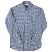 SCパナマギンガムシャツ SC Panama Gingham Shirt 5212847 (040)ブルー Mサイズ [アウトドア シャツ メンズ]