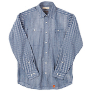 SCパナマギンガムシャツ SC Panama Gingham Shirt 5212847 (040)ブルー XLサイズ [アウトドア シャツ メンズ]
