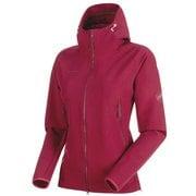 Runbold Trail SO Hooded Jacket AF Women 1011-23011 3490_beet XLサイズ [アウトドア ジャケット レディース]