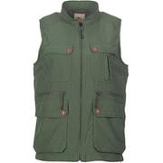 W・タッシュベスト Tasche Vest 8010549 (068)ダークグリーン Mサイズ [アウトドア ベスト レディース]