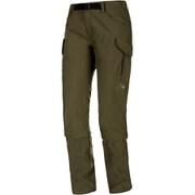 TRANSPORTER Cargo 3/4 2in1 Pants Women 1022-00320 4584_iguana Sサイズ [アウトドア パンツ レディース]