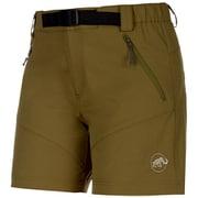 TREKKERS Shorts Women 1020-11860 4072 olive Mサイズ [アウトドア パンツ レディース]