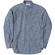 TSシャンブレーシャツ TS Chambray Shirt 5212965 (040)ブルー XLサイズ [アウトドア シャツ メンズ]