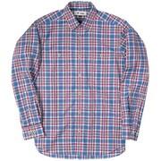 SCタータンチェックシャツ SC Tartan Check Shirt 5212970 (040)ブルー Lサイズ [アウトドア シャツ メンズ]