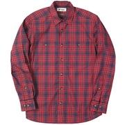 SCタータンチェックシャツ SC Tartan Check Shirt 5212970 (080)レッド Mサイズ [アウトドア シャツ メンズ]