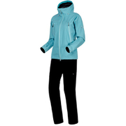 CLIMATE Rain-Suit AF Women 1010-26561 50218_waters-black Lサイズ [アウトドア レインウェア レディース]