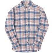 CシールドMIXチェックシャツ C-SHIELD MIX Check Shirt 8212925 (098)ピンク Sサイズ [アウトドア シャツ レディース]