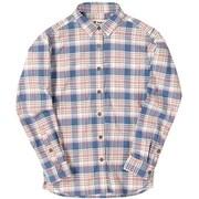CシールドMIXチェックシャツ C-SHIELD MIX Check Shirt 8212925 (098)ピンク Mサイズ [アウトドア シャツ レディース]