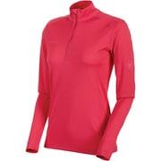 Performance Dry Zip Longsleeve Women 1016-00210 6085_pink Sサイズ [アウトドア カットソー レディース]