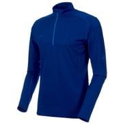Performance Dry Zip Longsleeve Men 1016-00220 50139_surf Sサイズ [アウトドア カットソー メンズ]