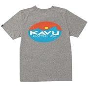 メンズ サーフロゴT Surf Logo 19820423023009 グレイ XLサイズ [アウトドア カットソー メンズ]