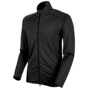 Nair ML Jacket AF Men 1014-00541 0033 black melange Sサイズ [アウトドア フリース メンズ]